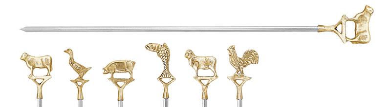 Pirinç Saplı Paslanmaz Şiş  Hayvan Modeli